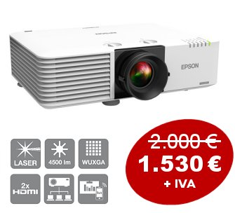 LASER Epson L400 Projector <br> with a 20% discount