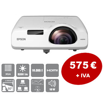 Short throw projector <br> the best price