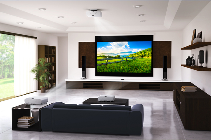 Home projector offer <br> Giant screen cinema!